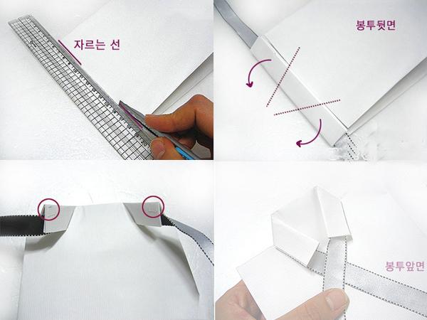 Бумажный пакет с воротником