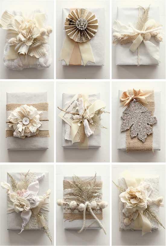 Идеи винтажных упаковок подарка