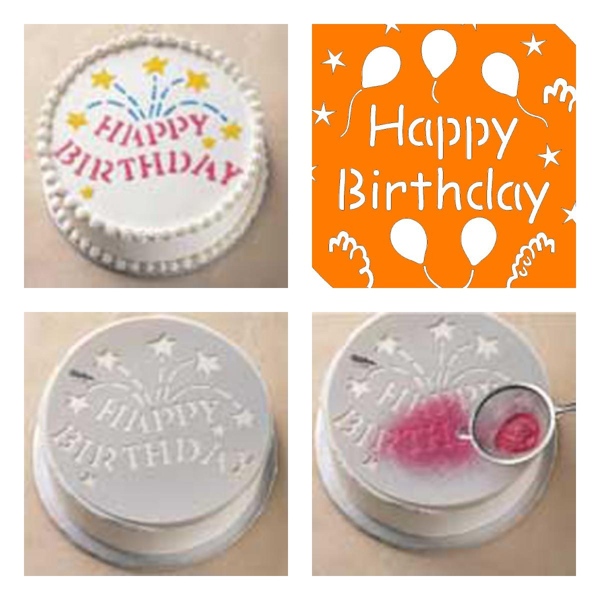 Как быстро и красиво украсить торт ко Дню рождения?