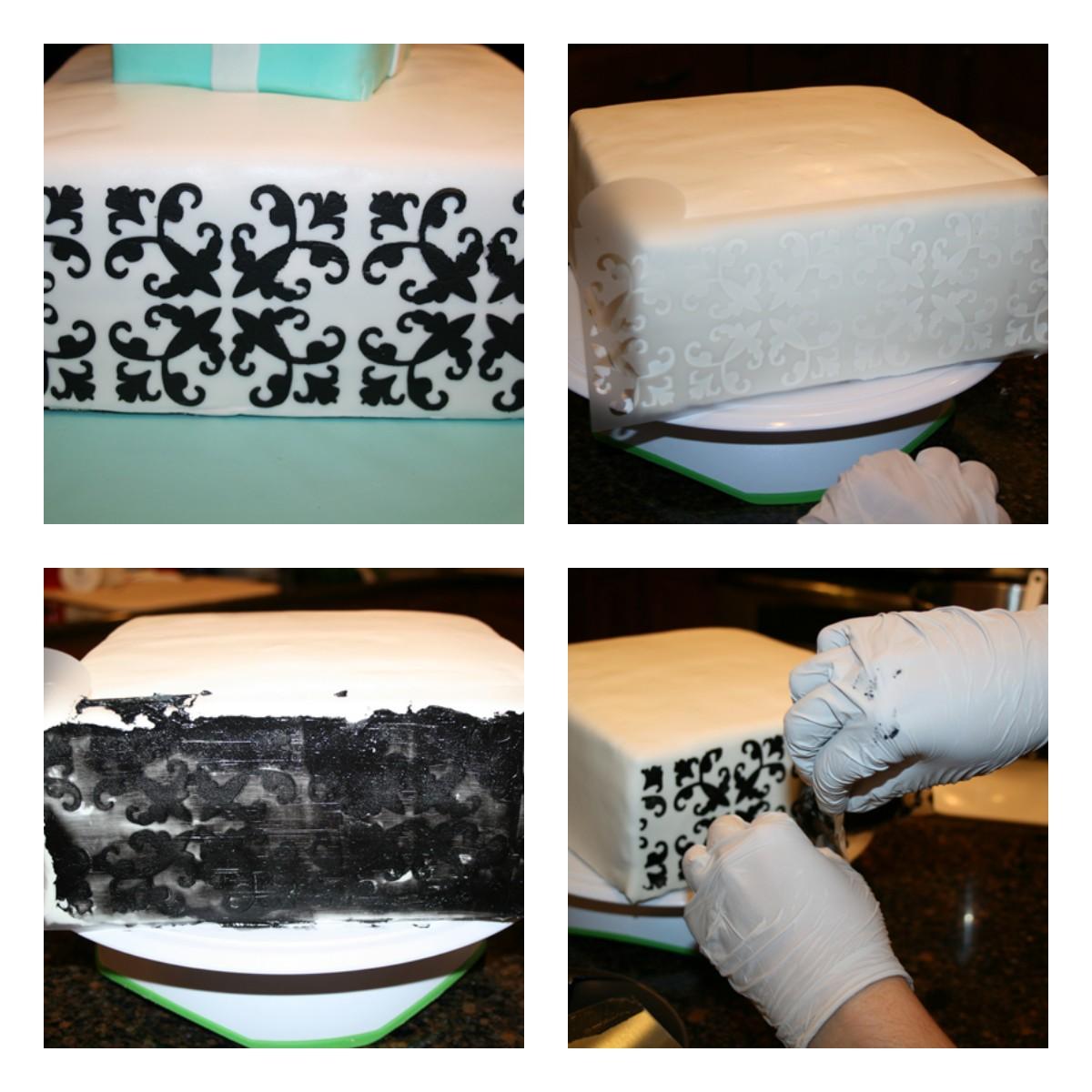 Как быстро и красиво украсить свадебный торт