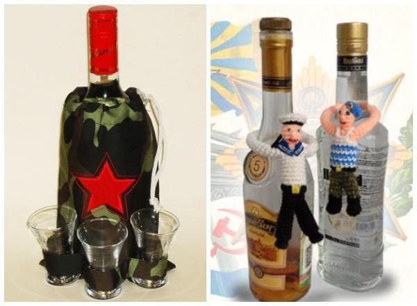 Как подарить алкоголь на 23 февраля