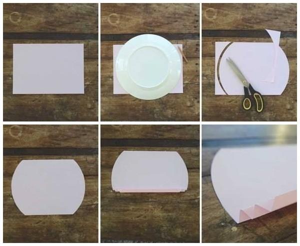 Как сделать бумажную гирлянду на 14 февраля