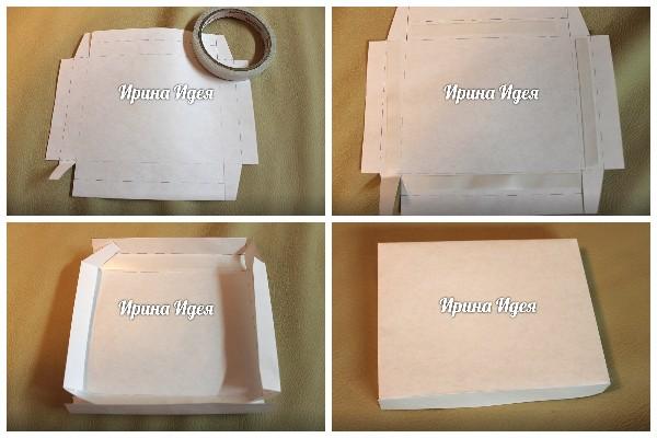 Как сделать коробку для шокобокса