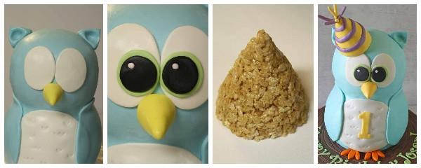 Как сделать торт в виде совы из мастики
