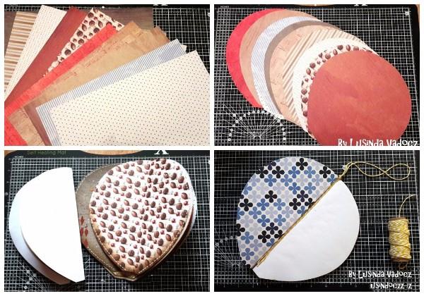 Купол воздушного шара из бумаги