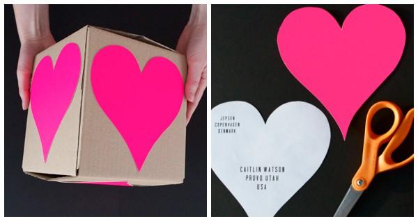 Как красиво упаковать подарок ко Дню Святого Валентина + теги