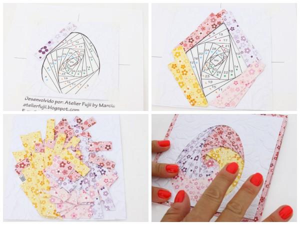 Пасхальная открытка в технике айрис холдинг