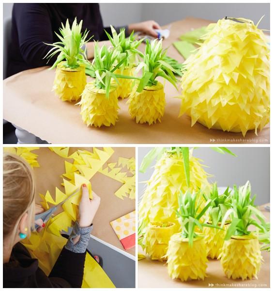 Пиньяты в виде ананаса