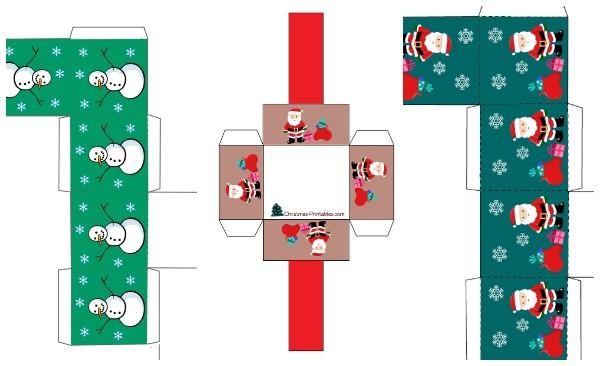Примеры шаблонов коробочек для подарков