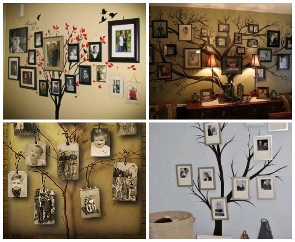 Идеи семейного дерева из фотографий