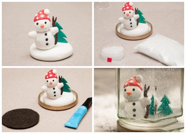 Снеговик в банке