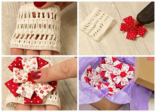 Текстильные кольца для салфеток