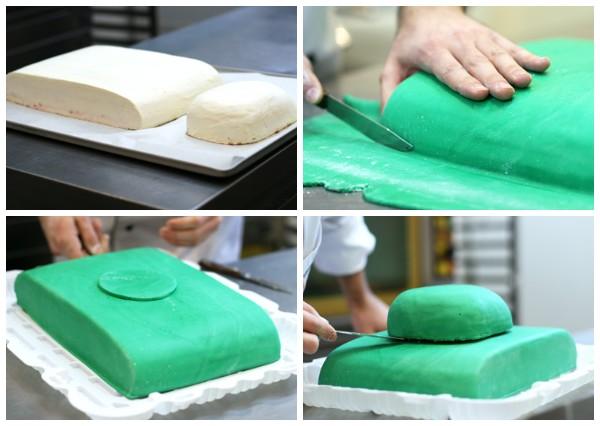 Торт танк из мастики