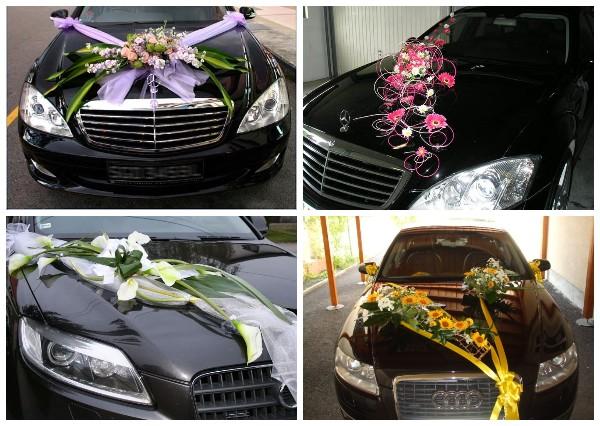 Идеи оформления свадебных машин