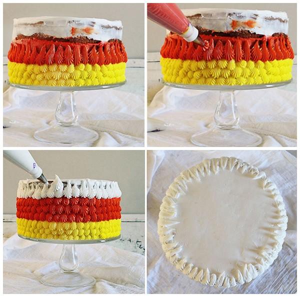 Как украсить торт к 8 марта?
