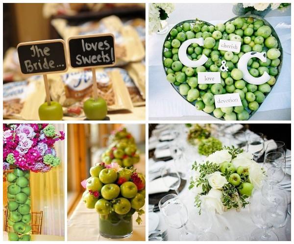 Яблочная свадьба – красивые идеи тематической свадьбы
