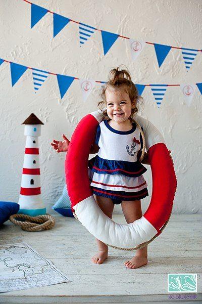 Детский день рождения в морском стилеДетский день рождения в морском стиле