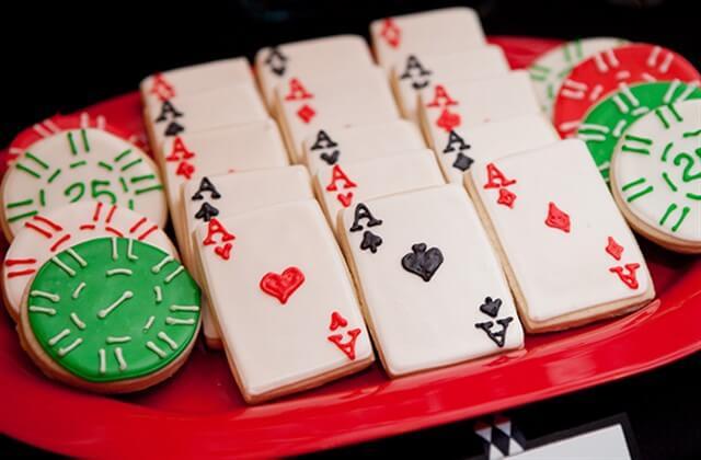 День рождения в стиле казино