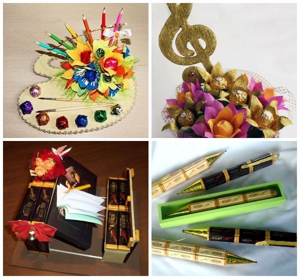 Идеи подарков для учителей своими руками