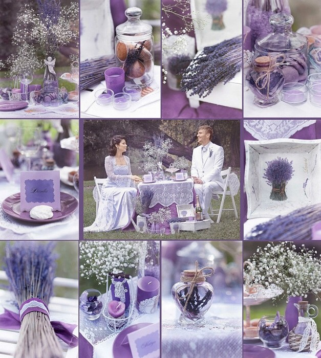 Свадьба в лавандовом стиле