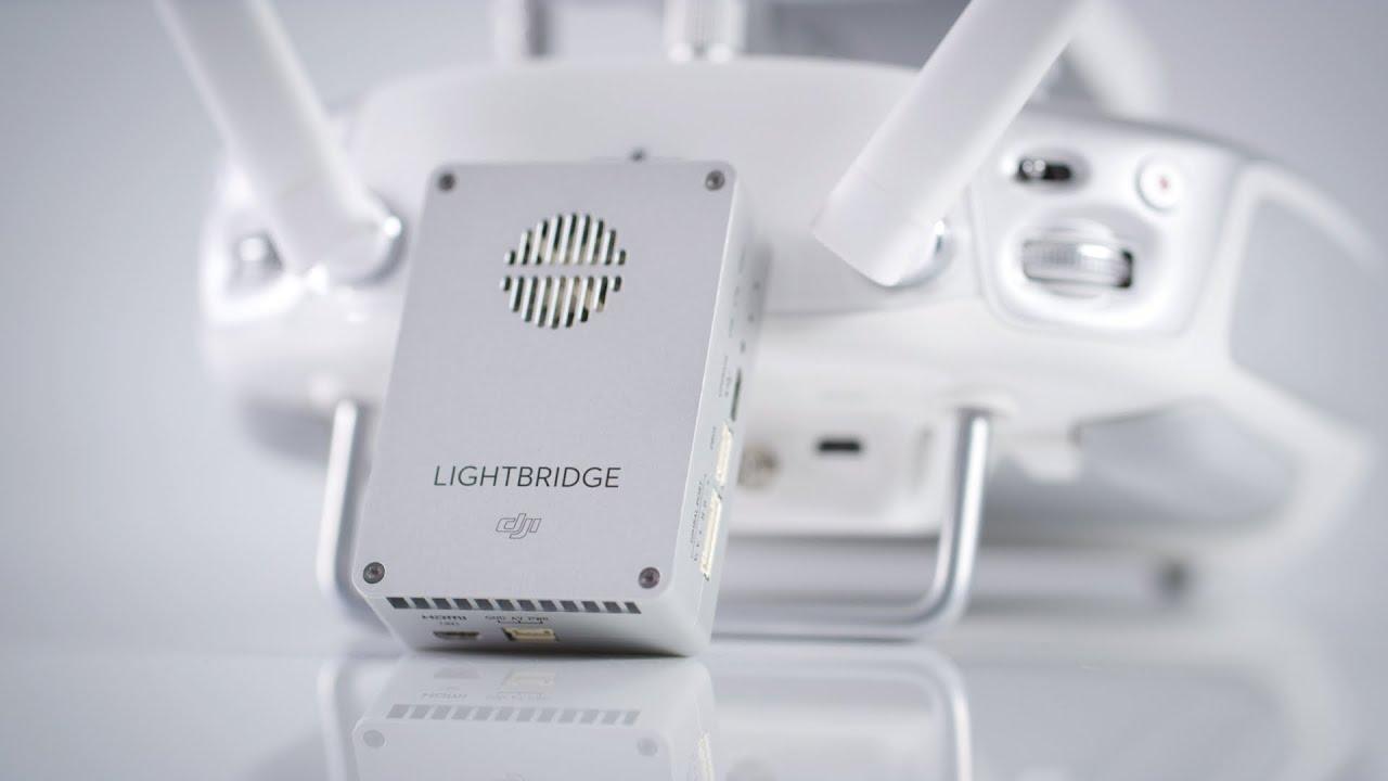 Квадрокоптер  dji Lightbridge