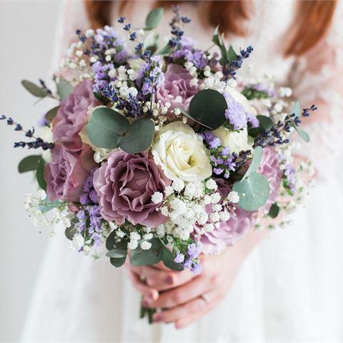 Букет невесты для свадьбы в стиле Прованс