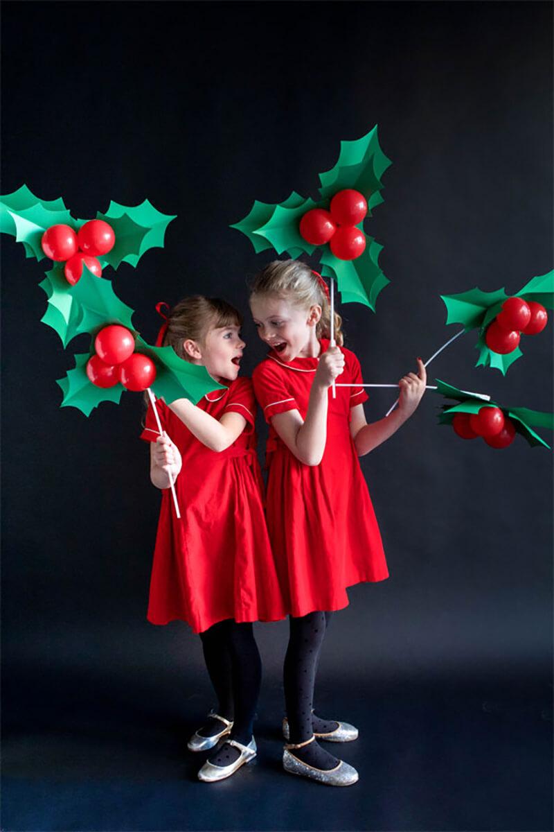 Идеи новогодней или рождественской фотосессии