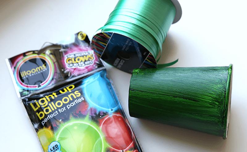 Как сделать новогоднюю гирлянду из воздушных шариков