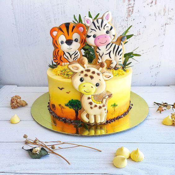 Детский день рождения в стиле сафари