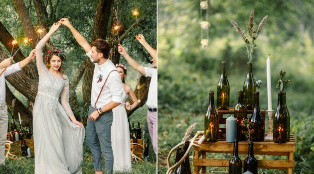 Идеи для свадьбы на улице