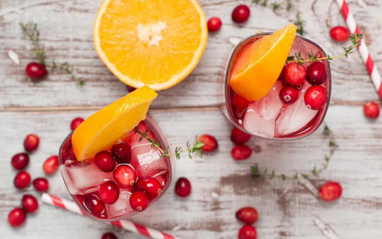 Лёд с ягодами для напитков