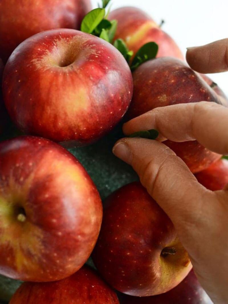 Как сделать букет из яблок