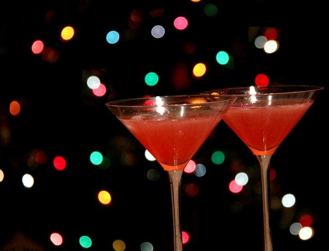Вишневый мартини