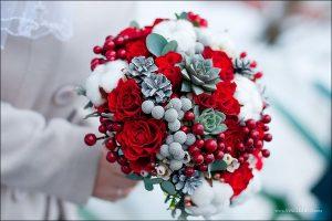 Цветы в подарок зимой
