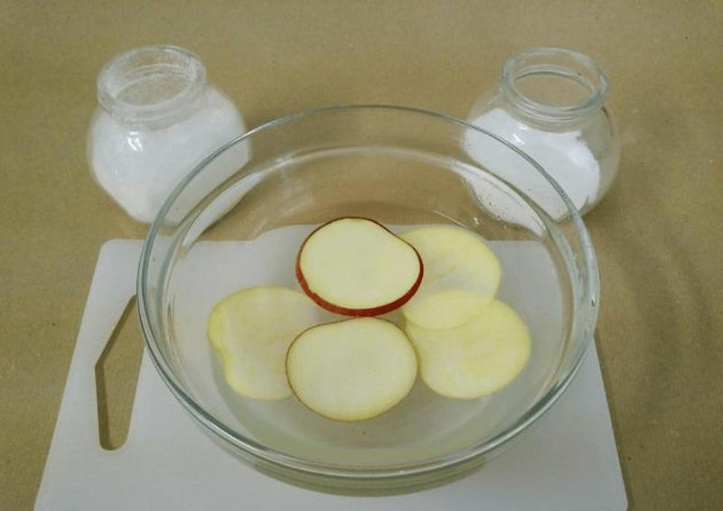 Сухие яблочные дольки своими руками