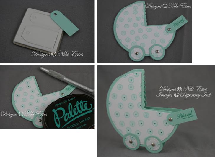Мастер-класс, как сделать детскую открытку в виде коляски