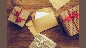 Подарок в конверте своими руками