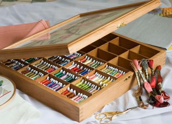 Коробка для рукодельницы