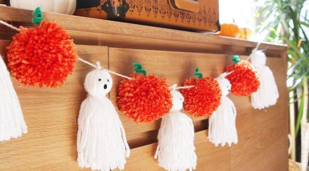 Декор на Хэллоуин своими руками