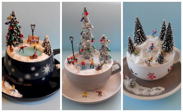 Идеи сувенирных чашек на Новый год