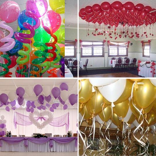 Как украсить вечеринку шарами