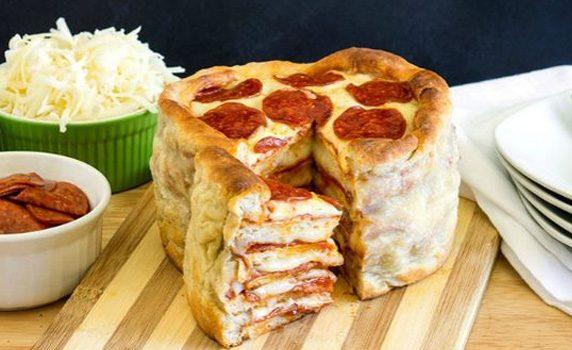 Торт-пицца