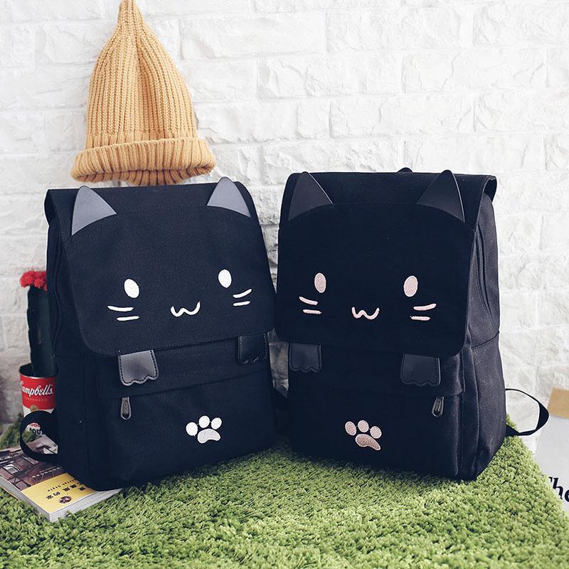 Рюкзак с кошечкой