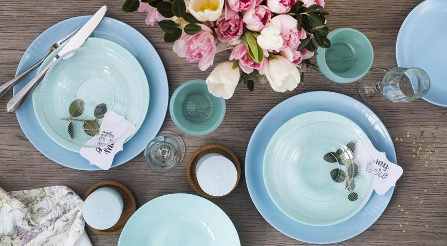 Какую посуду выбрать для праздничного стола к 8 Марта