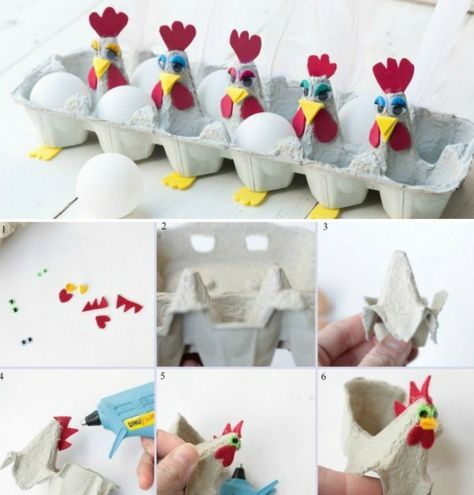 Как сделать пасхальную подставку с курочками