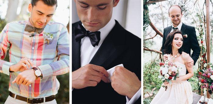 Образ жениха для свадьбы в стиле лофт