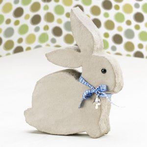 Кролик из бетона и пенопласта или пены