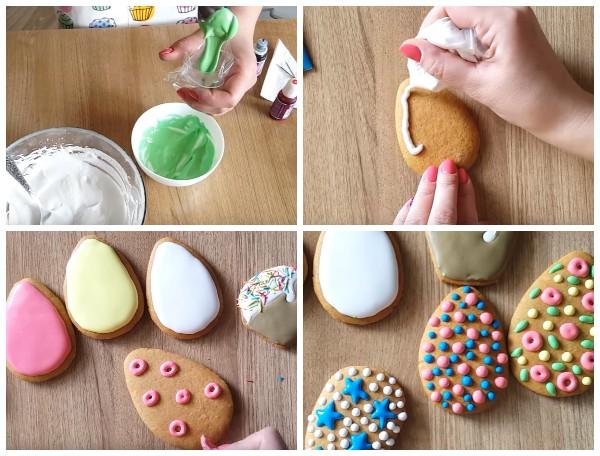 Пасхальное печенье с глазурью своими руками