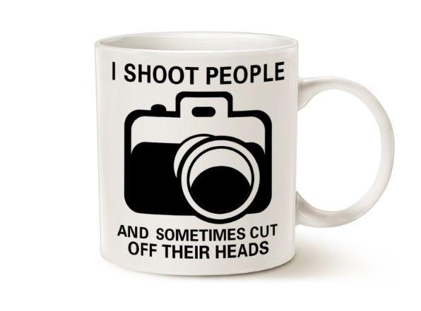 Чашка с фотоаппаратом