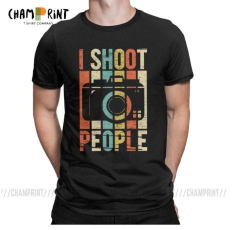 Мужская футболка фотографу